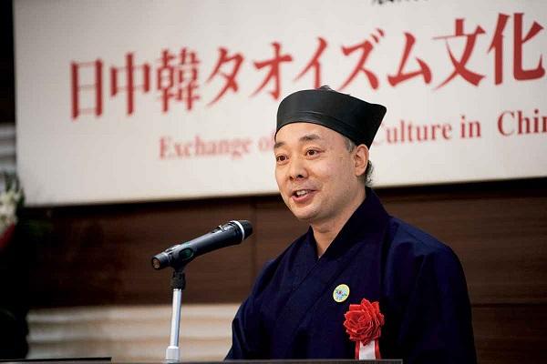 日中国道教協会副会長 陝西省道教協会会長 胡誠林道長
