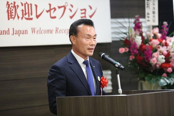 韓国大巡真理会李泰烈教務部長